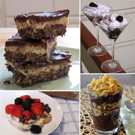 easy no bake desserts meals for rmh
