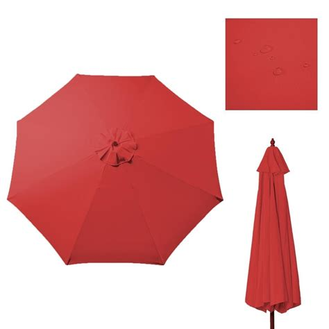 Patio Umbrella Canopy Replacement 6 Ribs 8ft by 100 Patio Umbrella Canopy Replacement 6 Ribs 8ft