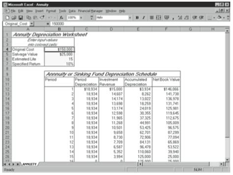 annuityf sinking fund annuity calculator