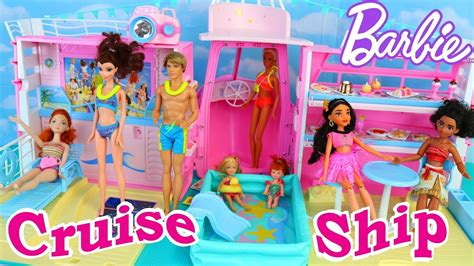 Barbie Dream Boat 90s by Barbie Cruise Ship Vintage House Boat Toy Review With