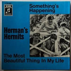 Herman's Hermits Something's Happening 68 PS No Disc ...