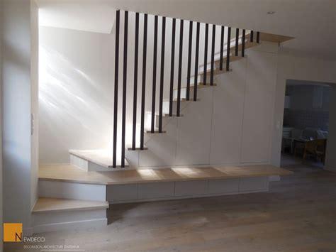escalier sur mesure placard sur mesure rangement sous escalier garde corps escalier