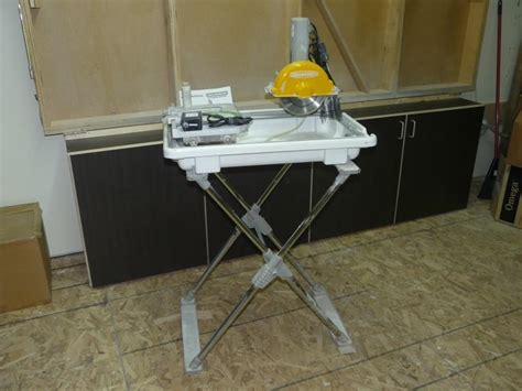 tile saw 7 quot workforce with folding stand and blade outside ottawa gatineau area gatineau