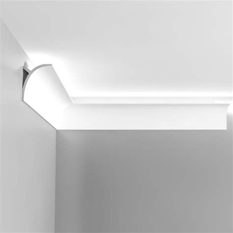 corniche moulure de plafond axxent orac decor pour eclairage indirect c991