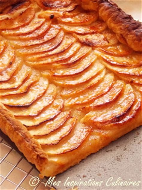 tarte aux pommes 224 la p 226 te feuillet 233 e le cuisine de samar