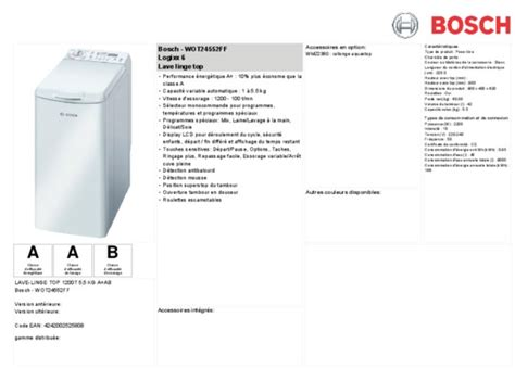 vue eclatee lave linge bauknecht wae 8988 pdf notice manuel d utilisation