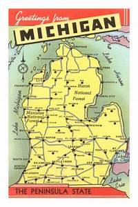 Map of Michigan | To be, Trips and My boys