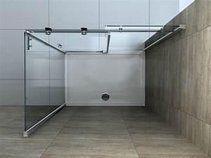 Schiebetür 80 Cm : area 100 x 80 cm glas schiebet r dusche duschkabine duschwand duschabtrennung ebay ~ Markanthonyermac.com Haus und Dekorationen