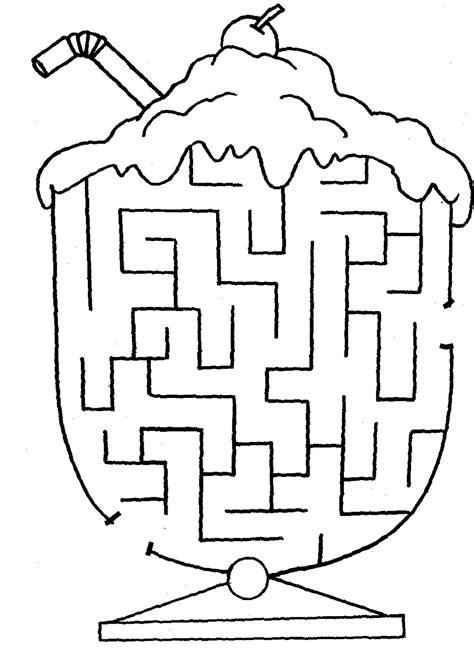 Easy Maze Worksheet For Kindergarten  Kids Games Easy Mazes Kidspotmazes For Printable And Free