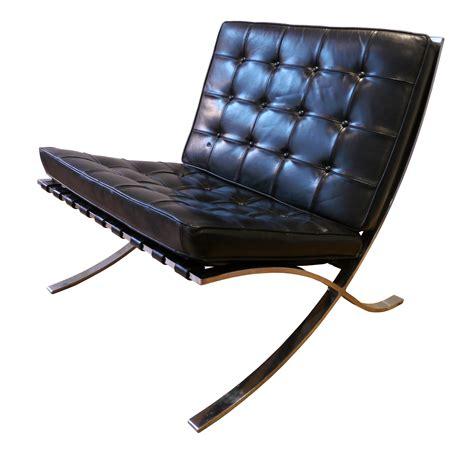 fauteuil quot barcelona quot noir ludwig mies der rohe 233 es 70 design market