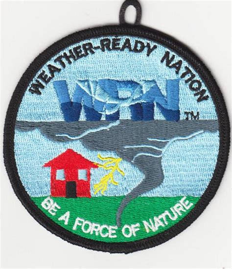 Earn Your Weatherready Nation Patch