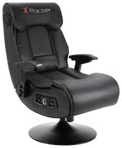 x rocker elite pro 2 1 audio faux leather gaming chair ebay