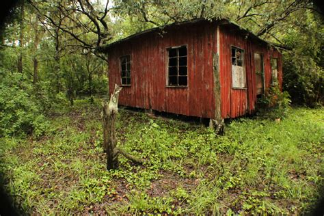 The Red Cabin In The Woods By Watchtower513 On Deviantart