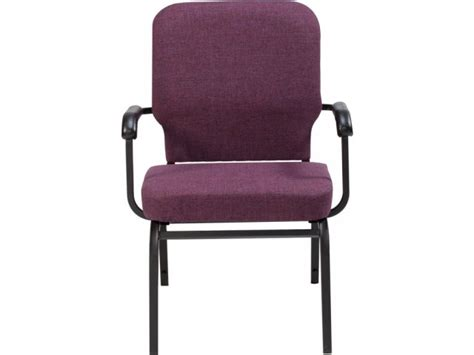 oversized church chair with arms scp 1041 stacking chairs