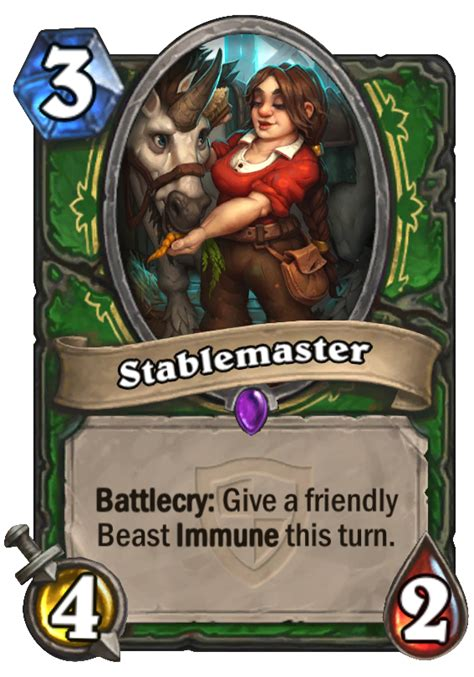 stablemaster hearthstone card