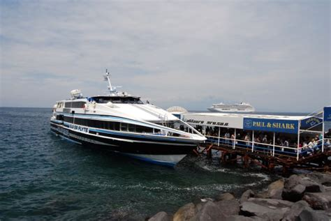 Hydrofoil Boat From Sorrento To Capri by Exploring The Isle Of Capri With Insight Vacations