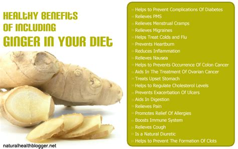 Healthy Benefits Of Including Ginger in Your Diet   Natural Health