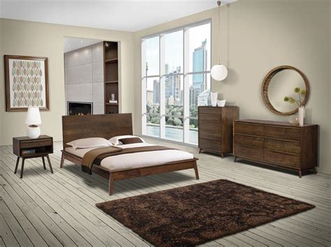 Hastingwood Mid Century Modern Bedroom Set From