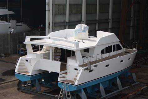 Catamaran Trawler Plans by Bruce Roberts Catamaran Boat Plans Catamaran Boat