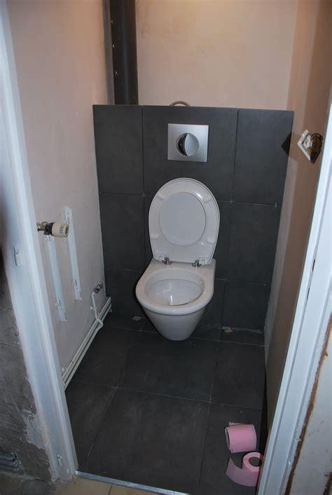 poser du carrelage wc suspendu