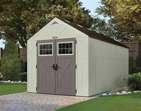 tremont 8x16 shed kit suncast storage shed resin kit