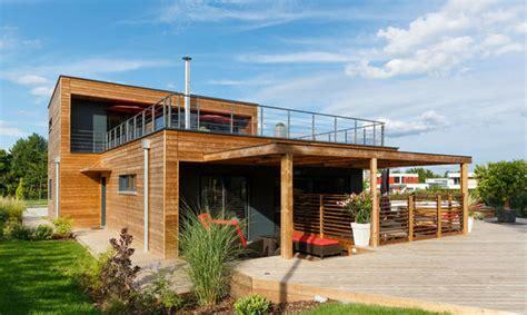 maison bois la villa d architecte booa constructions faire construire sa maison