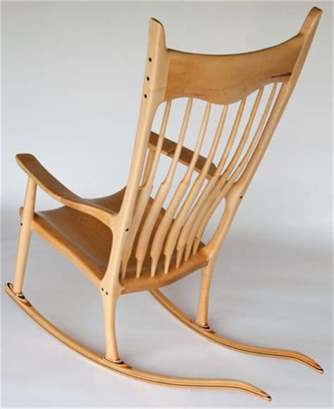 woodwork maloof inspired rocking chair plans pdf plans