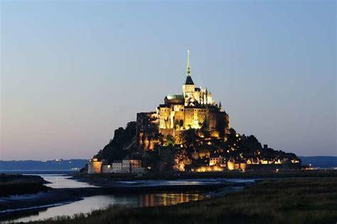 tourismus mont michel mont st michel bretagne frankreich