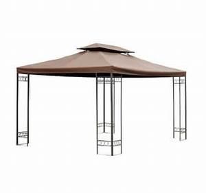 Dach Für Gartenpavillon : produkt ersatzdach dach f r metall gartenpavillon pavillon partyzelt gartenzelt 3x4m kaffeebraun ~ Markanthonyermac.com Haus und Dekorationen