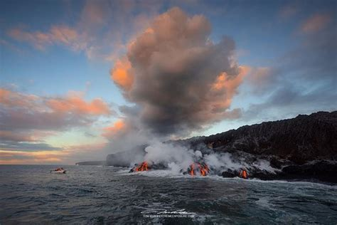 Private Lava Boat Tours Hawaii by Lava Boat Tour September 2016 Photo By Tom Kualii