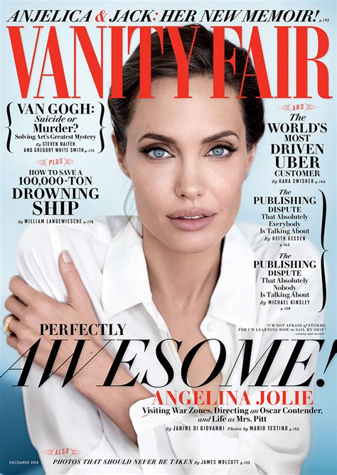 cover exclusive on being married to brad pitt it doe vanity fair
