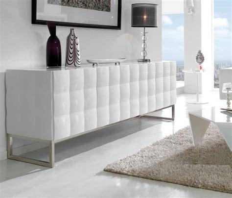 les concepteurs artistiques meuble bas tv laque blanc design