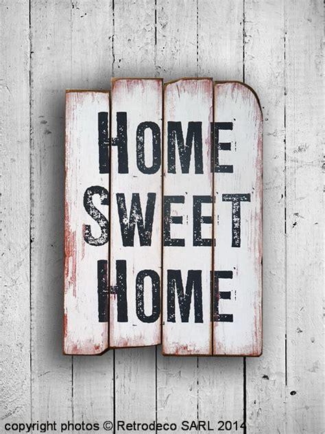 tableau home sweet home d 233 co de charme retrodeco lafinem2726