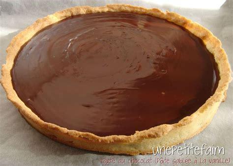 tarte au chocolat p 226 te sabl 233 e 224 la vanille une faim