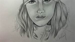 Simple Portrait Drawing - YouTube
