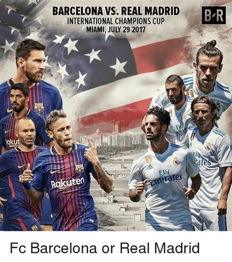 Barcelona Vs Real Madrid International Champions Cup Miami