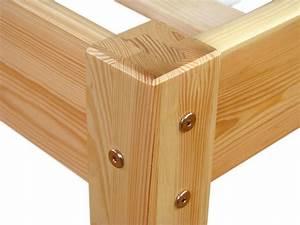 Lattenrost 140x200 Rollrost : bett 140x200 cm kiefer massiv mit rollrost ebay ~ Whattoseeinmadrid.com Haus und Dekorationen