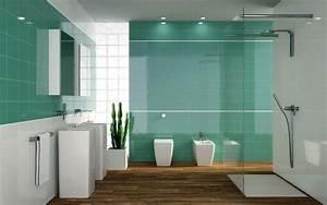 Badezimmer Design Fliesen : cuarto de ba o con azulejos de color y plato de ducha banium ~ Markanthonyermac.com Haus und Dekorationen