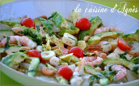salade de crevettes avocat pom 233 lo la cuisine d agn 232 sla cuisine d agn 232 s