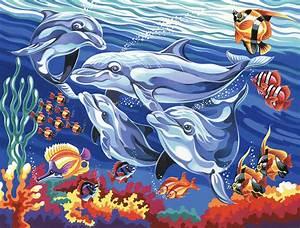 Kinder Bilder Malen : delfine malen nach zahlen alle motive malennachzahlen mona ~ Markanthonyermac.com Haus und Dekorationen