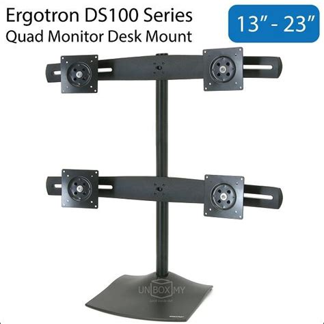 ergotron ds100 13 23 inch monit end 1 9 2018 10 15 am