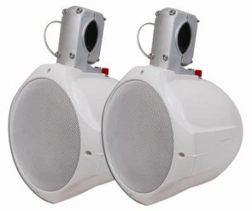 Best Rated Boat Tower Speakers by New 6 5 034 Wakeboard Tower Speakers Marine Boat Pair Wake