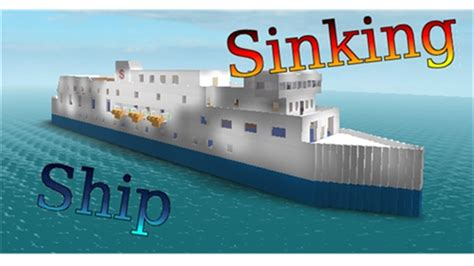 Sinking A Ship Game by Sinking Ship Simulator Roblox