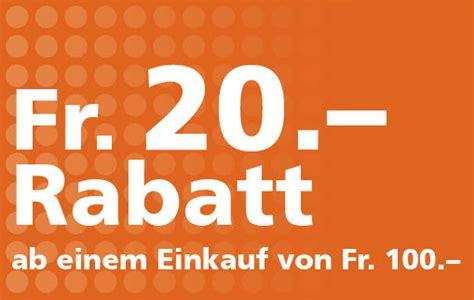 Neuer Fust Chf 20.- Gutschein Für Alle Produkte Der