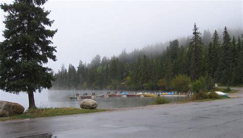 Round Boat Canada by Canoeing Around Edmonton Alberta Canada Pyramid Lake