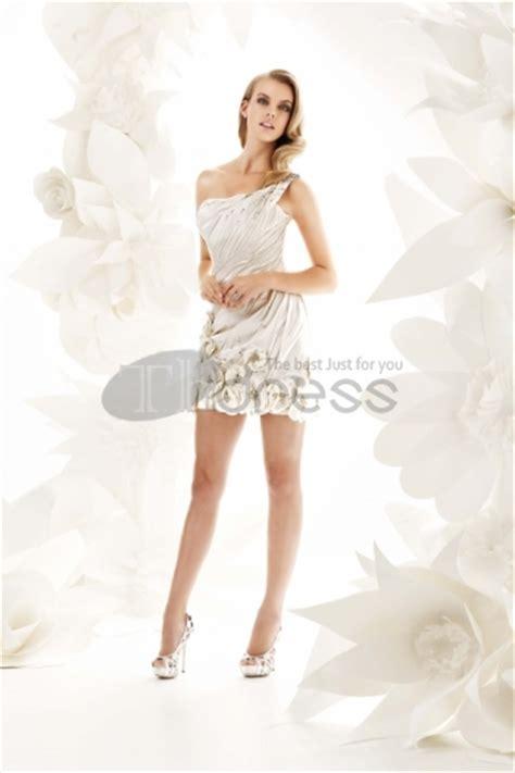 satin chagne moderne mini robes de mari 233 e courtes asym 233 triques image 824298 by robe de bal