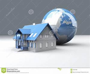 Global Real Estate stock illustration. Image of resource ...