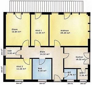 Grundriss Bungalow 100 Qm : grundriss bungalow 5 zimmer ~ Markanthonyermac.com Haus und Dekorationen