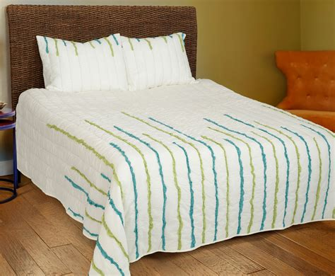 streamers lime teal by rizzy home bedding beddingsuperstore