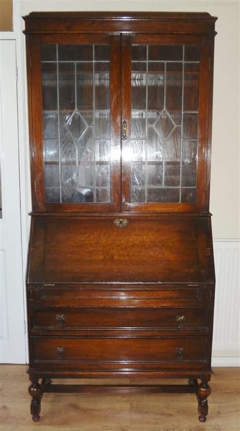 Antique Oak Bureau Bookcase  Antiques Atlas